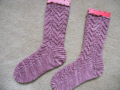 Love Letters Socks finished
