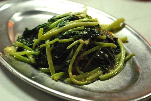 KangKung with Garlic