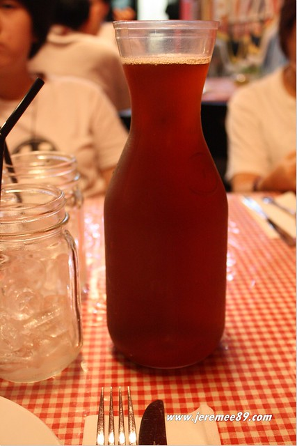 US Pizza @ Greenlane - Pitcher Of American Ice Tea