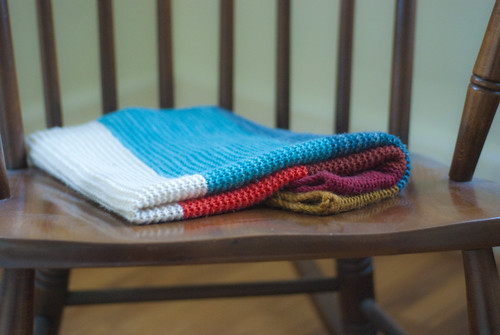 lachlan's blanket folded