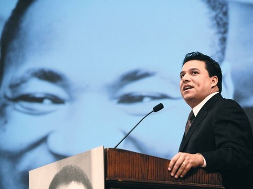 Dr Martin Luther King-Los Angeles-Councilmember Jose Huizar