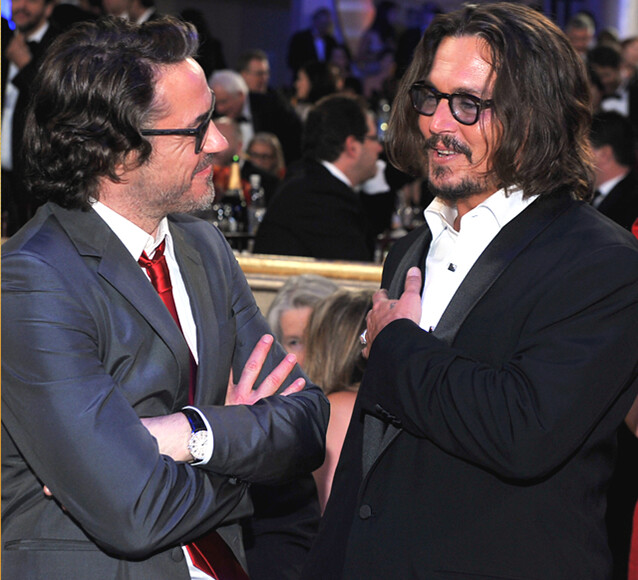 Thumb Johnny Depp y Robert Downey Jr. son grandes amigos
