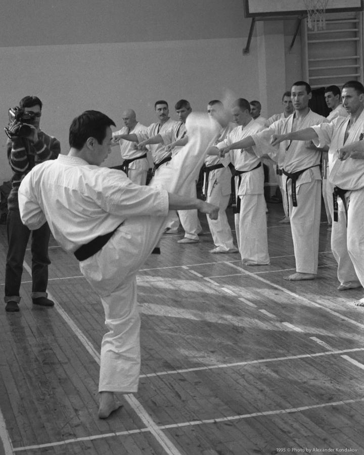 Shihan Daigo Ohishi 1995 © Photo by Alexander Kondakov