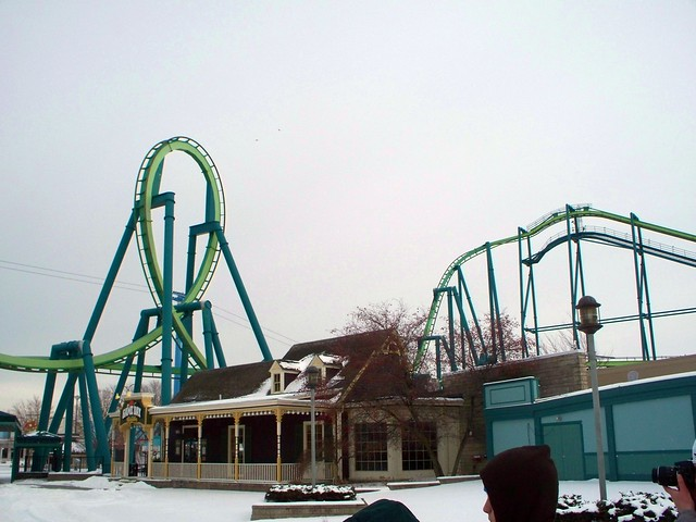 Cedar Point - Off-Season Raptor