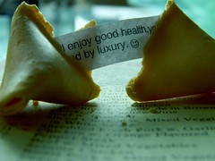 (stevenseitz) Tags: food macro green menu asian nikon cookie chinese fortune luxury