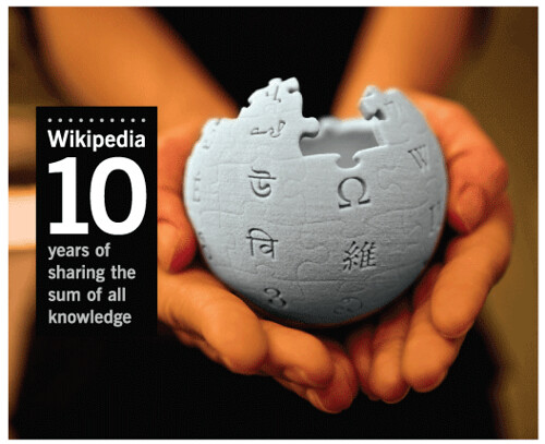 wikipedia 10 years