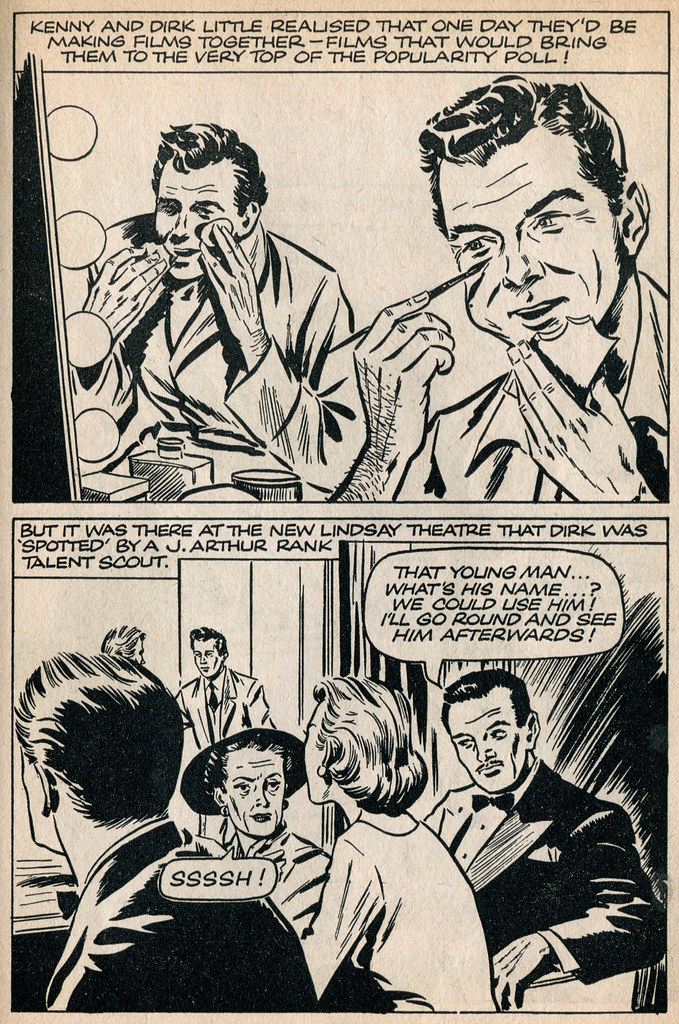 Dirk Bogarde comic 12