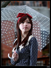 nEO_IMG_IMG_8166 (c0466art) Tags: light red portrait baby white cold color cute art fall girl beautiful beauty leaves rain weather female canon campus maple model eyes asia university pretty day skin sweet outdoor path young taiwan website 5d shooting feeling lovely popular romatic  c0466art