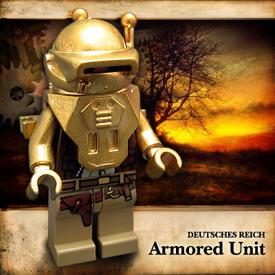 Custom minifig Deutsches Reich - Armored Unit