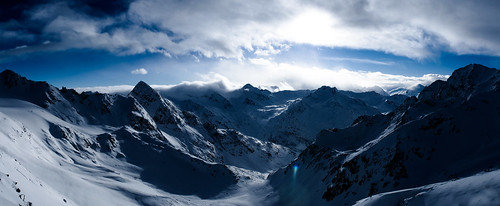 フリー写真素材, 自然・風景, 山, 雪, オーストリア, パノラマ,