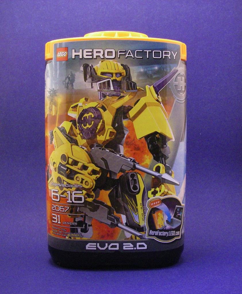 Figure Review Lego Hero Factory Evo 20 Infinite Hollywood