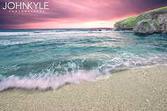 Ladder Beach, Saipan (johnkyle.) Tags: hdr saipan marianas chamorro tinian beachhdr sunsethdr ladderbeach johnkyle
