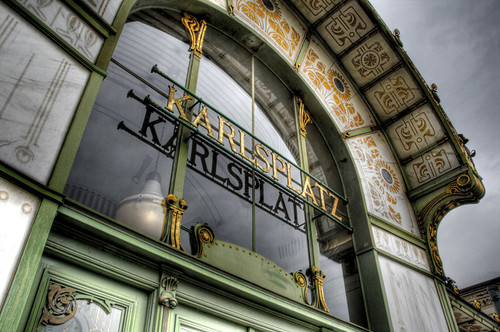 Karlsplatz station. Vienna. Estación de Karlsplatz