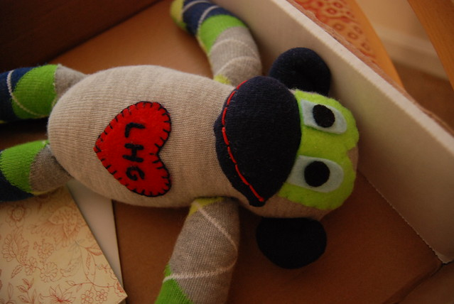 The Sock Monkey is here!