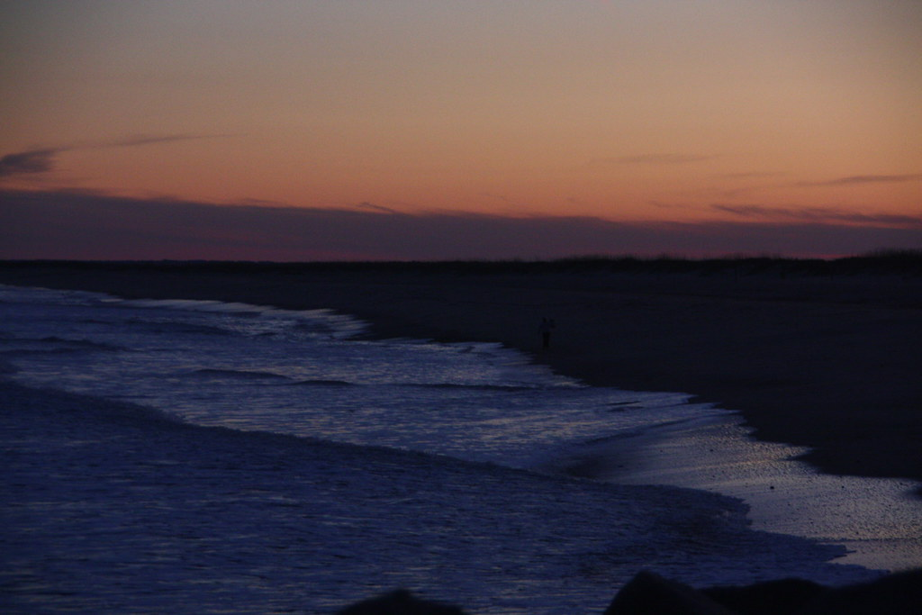 NC - New Hanover County - The Other Side of the Christmas Eve Sunset from Battle Acre at Fort Fisher