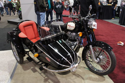 Royal Enfield, Vancouver Motorcycle Show 2011, Tradex Exhibition Centre, Abbotsford, BC