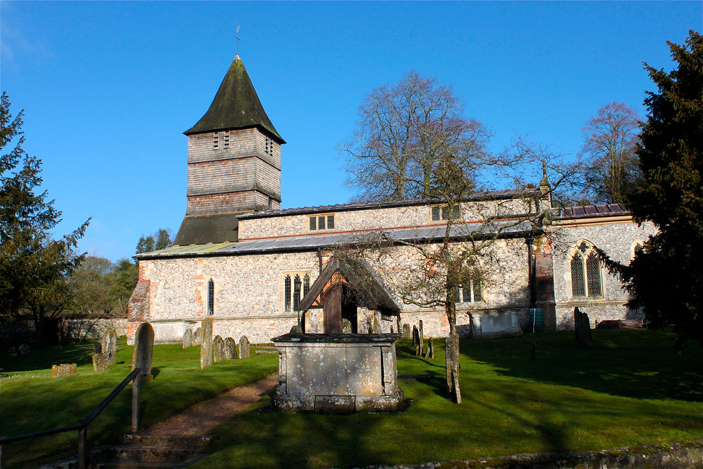 St. Peter's Parish Church, Hurstbourne Tarrant, Hampshire, UK