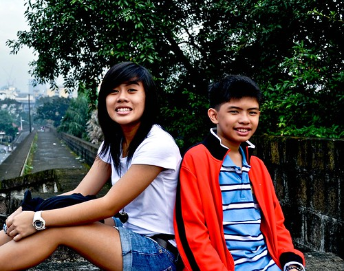 At Intramuros wall