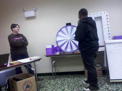 Relay for Life Team Captain Meeting - Prize Wheel