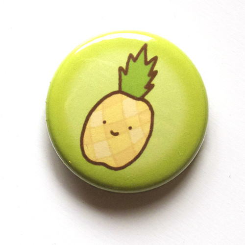 Pineapple Smile - Button 01.22.11