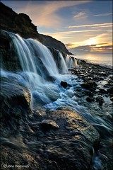 The Next Morning. (John Dominick) Tags: seascape landscape waterfall dorset jurassiccoast osmingtonmills