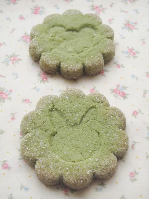 Matcha cookies (2)