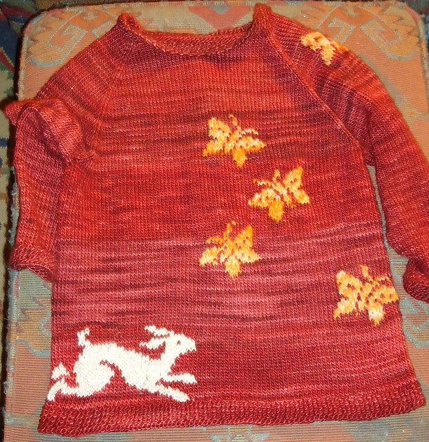 Year of the Rabbit Cardi