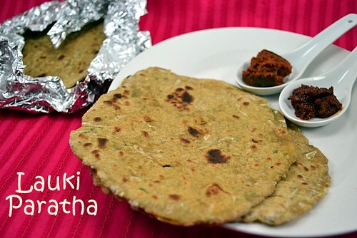 Lauki Ki Paratha2