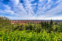 Bologna - Italy (Lorenzoclick) Tags: light italy panorama green primavera colors spring bluesky bologna 5d hdr paesaggio sanmicheleinbosco canonef14mmf28liiusm canon5dmarkiii