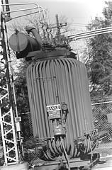 Old Halesite Transformer (en tee gee) Tags: transformer old 23kv 4kv huntington ny