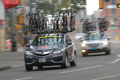 Rally Cycling Acura RDX at the 2016 Tour of Alberta