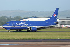 TF-BBH | B734 | BLUEBIRD CARGO | EGTE (Global_5000) Tags: exeter airport egte ext canon eos aircraft aeroplane aviation airplane tfbbh