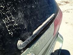 Road dirt on my car... 20160918_7015 (listorama) Tags: utah boxeldercounty dirt dust car toyota sienna roadupload replacedlater