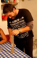 Tsipouro time 2010 (VIII) (teo58-) Tags: island still greece alcohol distillery paros measuring raki souma naoussa stathis tsipouro