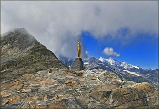 Happy Birthday Dear Ronaldo !!! An image from Monte Moro Pass(2853m) Switzerland / Italy.