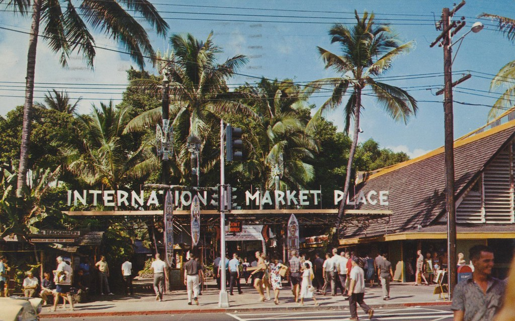 International Market Place In Waikiki - Honolulu, Hawaii