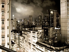 Hong Kong at night (Surrealplaces) Tags: china city urban night hongkong hong kong