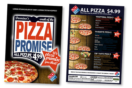 Pizzaria Flyer Template