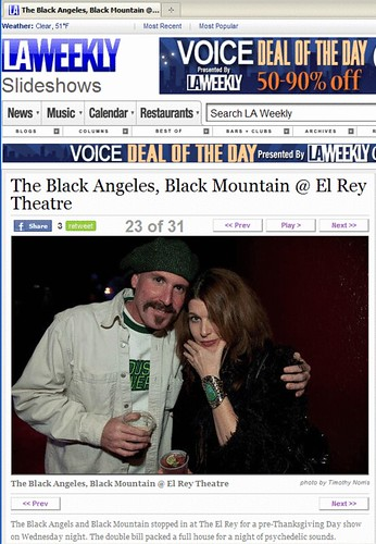 Shannon and I make LA Weekly.