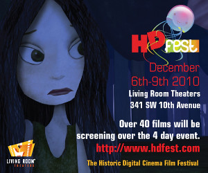Win Tickets: Portland HDFEST - Portland Film Festival @ Living Room Theaters
