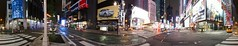 New York - Time Square - 360 (diwan) Tags: street city nyc newyorkcity light panorama usa ny newyork night america canon geotagged eos place stitch nacht manhattan unitedstatesofamerica broadway timesquare stadt northamerica neonsign metropolitain bigapple panoramix 360 2010 langzeitbelichtung longexposures hugin leuchtreklame vereinigtestaatenvonamerika canoneos450d spivpano geo:lon=73985021 geo:lat=40759472