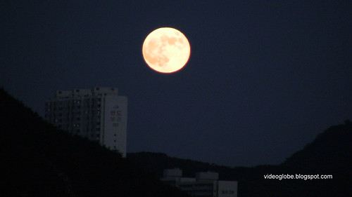 Pusan Busan Moon night