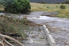 Gudgenby River Bridge closed 3/12/2010 (John Lafferty Photography) Tags: geotagged book flooding australia aus blurb australiancapitalterritory tharwa gudgenbyriver geo:lat=3552588727 geo:lon=14907282114 blurbbookwwwblurbcombookstoredetail2283708