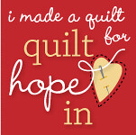 Quilt Hope In - Quilter Button
