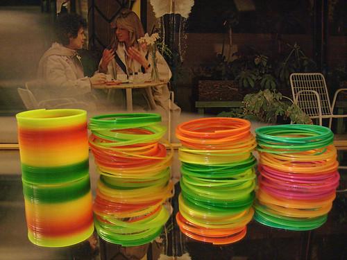 Lucio Battisti rainbow bracelet