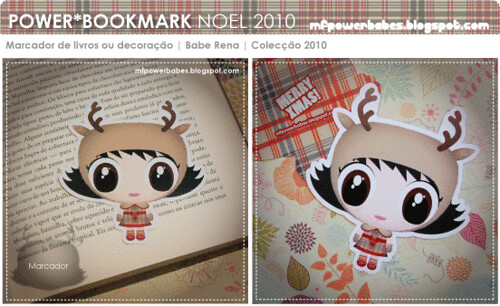 Power*Babe Noel Bookmark