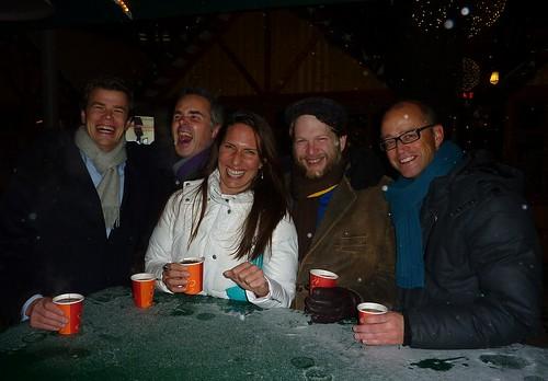 Glühwein fun with B2B Marketing friends