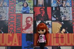 Aisha também adorou a casa dos livros na Bienal!!