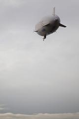 Taking Off (mrjoro) Tags: california lenstagged unitedstatesofamerica zeppelin airship eureka offsite dirigible moffettfield starred canonef24105f4l zeppelinnt airshipventures notablimp canon5dmarkii letsgorideadirigible