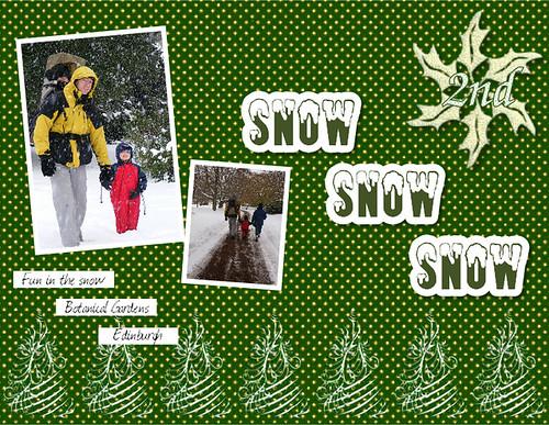 2nd Snow Snow Snow